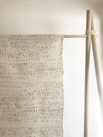 Little Korboose x Mr Blue Skye Hand-Loomed Rag Rugs