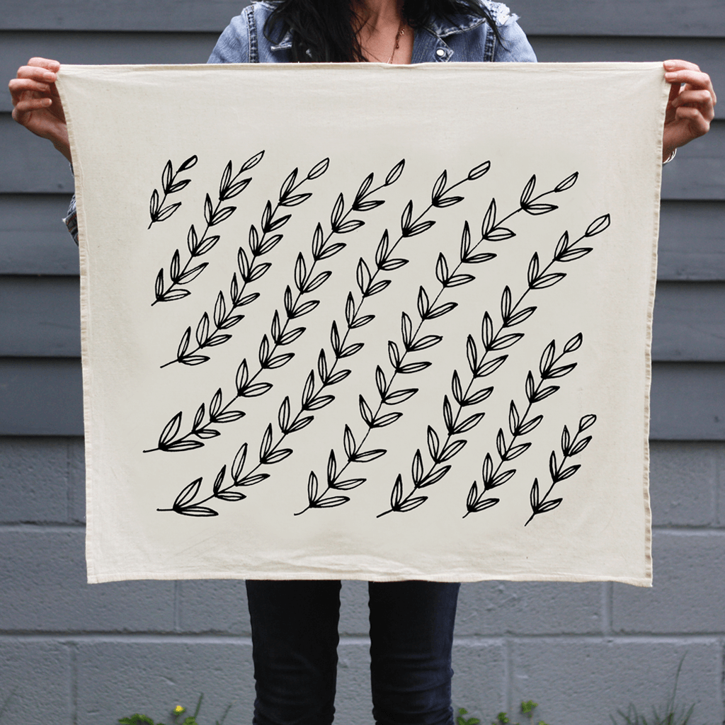 Vines | Organic Cotton Tea Towel
