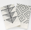 Arrows | Organic Cotton Tea Towel