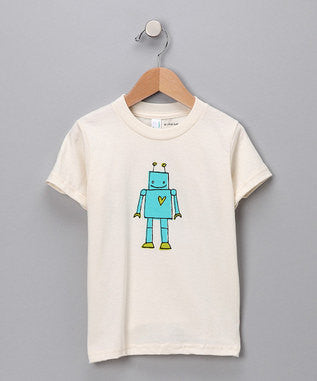 Robot Organic Cotton T-Shirt
