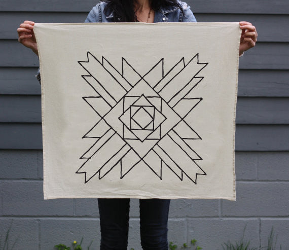 Colorado Organic Cotton Tea Towel