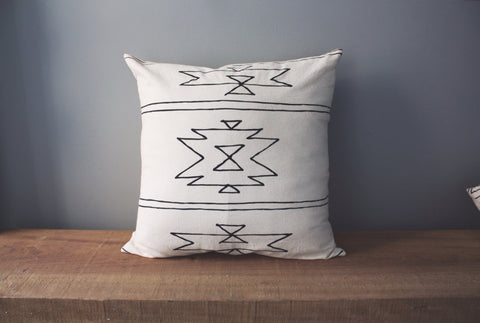 New Mexico Organic Cotton Pillow 18x18