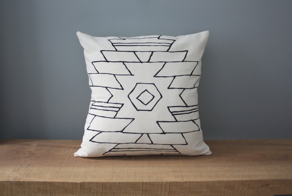 Arizona Organic Cotton Pillow 18x18