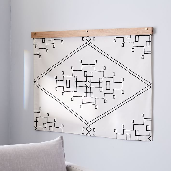 Nevada | Hand Screen-Printed Cotton Tapestry (FREE SHIPPING)