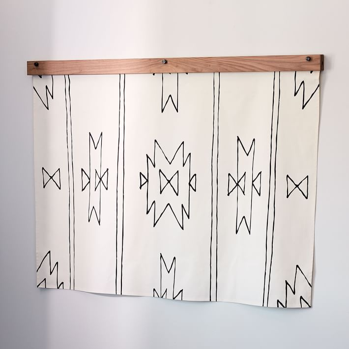 New Mexico | Hand Screen-Printed Cotton Tapestry (FREE SHIPPING)