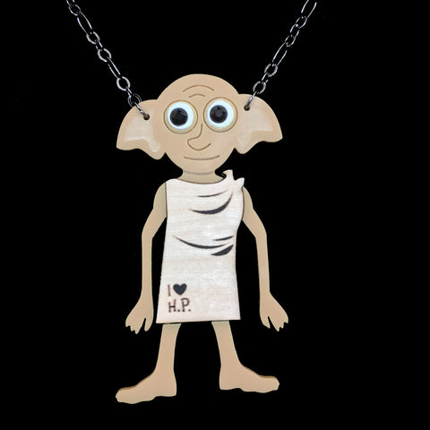 Dobby Mixed Media Necklace