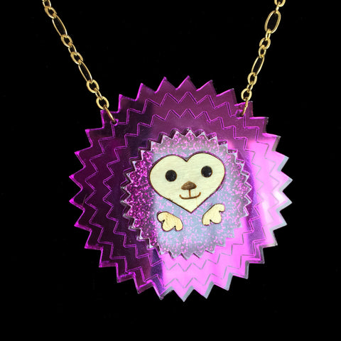 Pygmy Puff Necklace