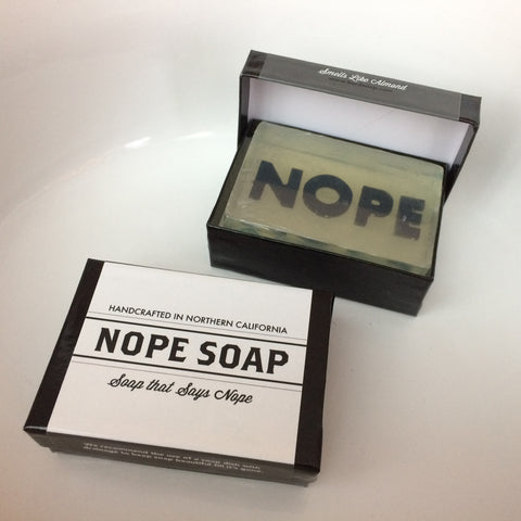 The NOPE soap