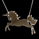 Unicorn Clear Necklace