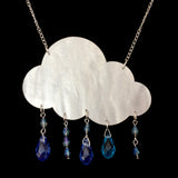 Pearly Rain Cloud Necklace