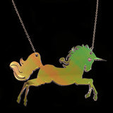 Unicorn Iridescent Necklace