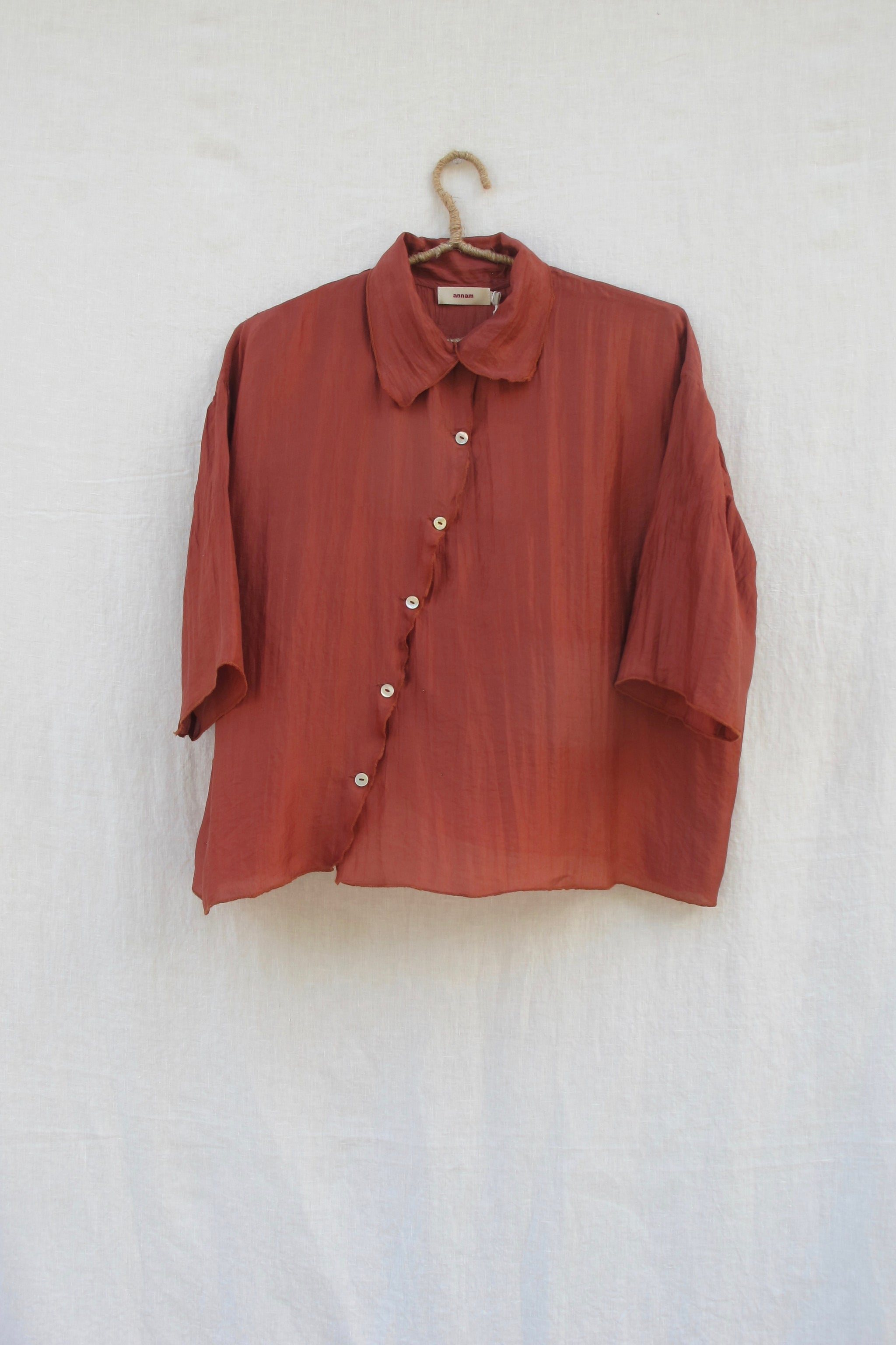 Sue Blouse - Brick