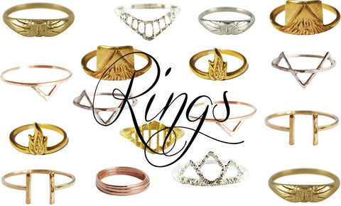 Stefanie Sheehan Rings