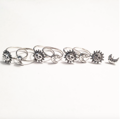 Sun and Moon Jewelry by Stefanie Sheehan