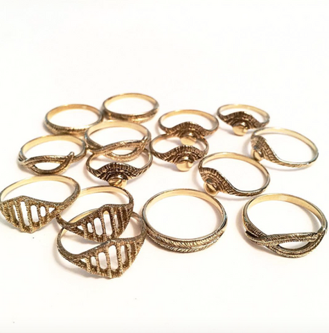 Brass Rings by Stefanie Sheehan
