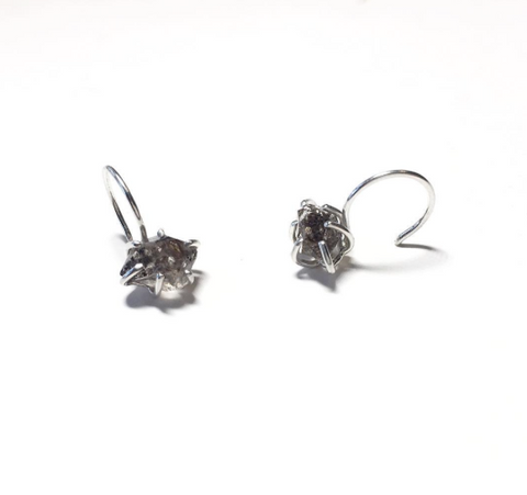 Tibetan Quartz Earrings