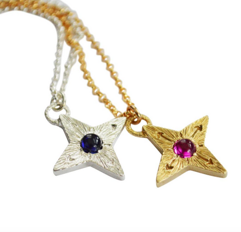 Compass Star Necklaces