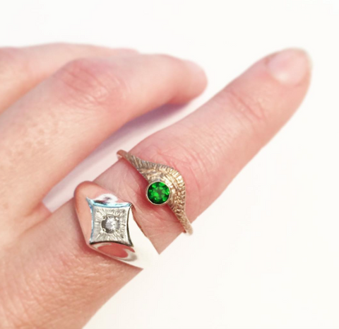 Custom Rings by Stefanie Sheehan