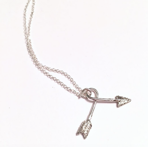 Twisted Arrow Necklace