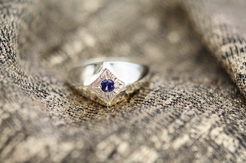 Compass Star Ring, Made of Jewelry Blog