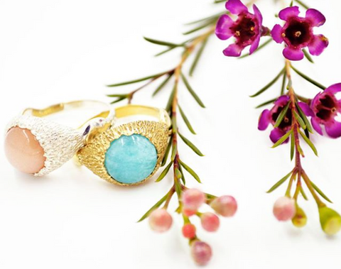 Serenity Rings by Stefanie Sheehan