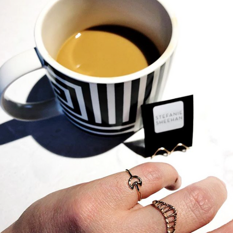 Coffee and Jewelry
