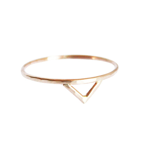 Gold Spike Ring