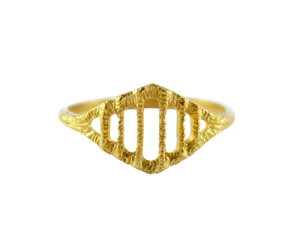 Brass Arcade Ring
