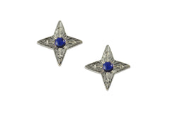 Compass Star Earrings