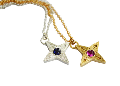 Compass Star Necklace