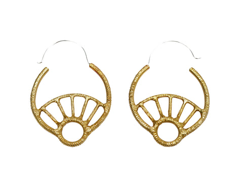 Day Dreamer Hoop Earrings