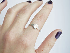 Silver Day Ring