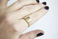 Gold Mountain Ring On