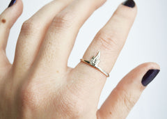 Silver Fire Ring