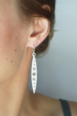 Gleaming Earrings by Stefanie Sheehan