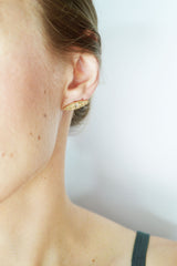 Gleaming Eye Earring by Stefanie Sheehan
