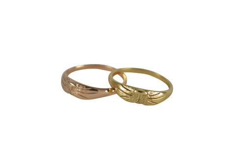 Cat Ring, 14K Gold