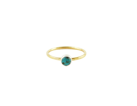 Little 14K Turquoise Ring