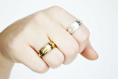 Thick Chunky Handmade Ring Bands