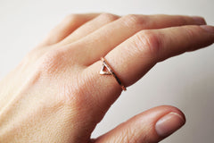 Mega Rose Gold Spike Ring by Stefanie Sheehan