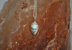 Silver Opal Beacon Necklace