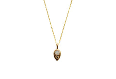 Gold Opal Beacon Necklace