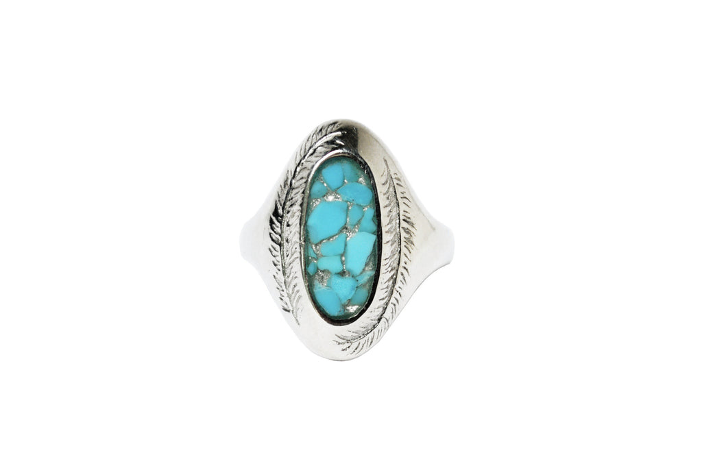 Paradise Rings with Stone Inlay