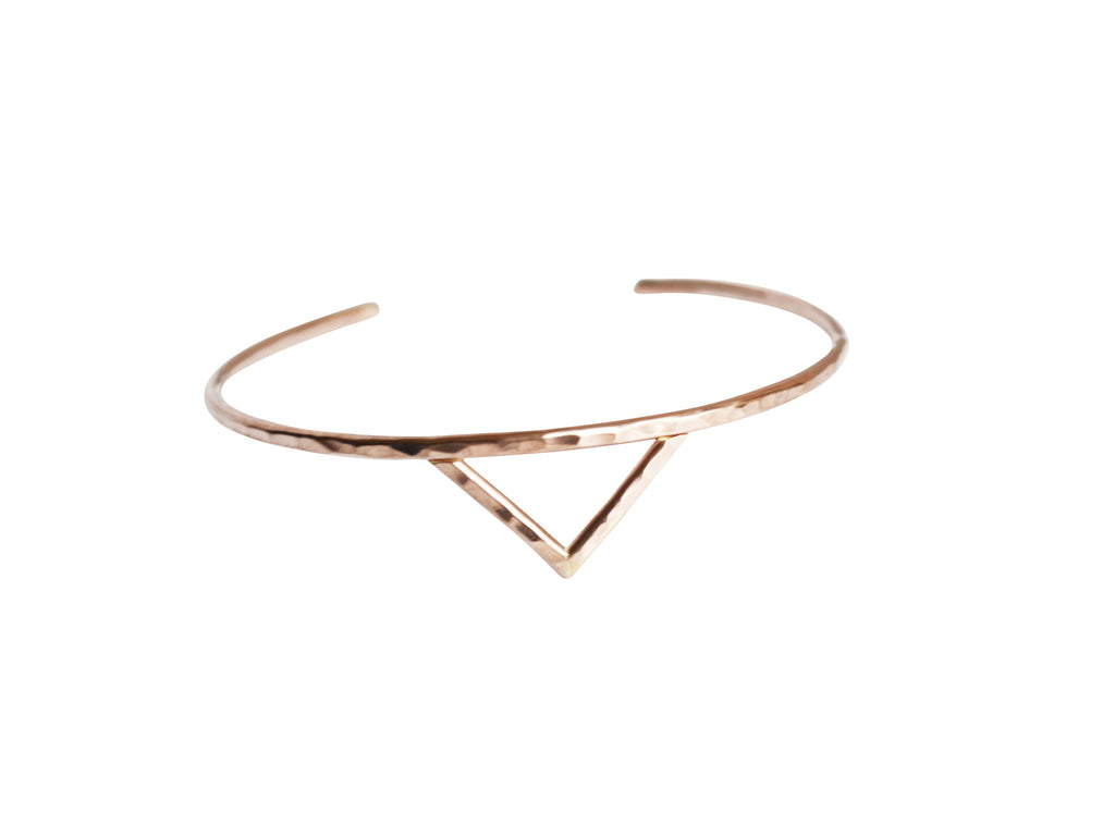 thin gold fill cuff
