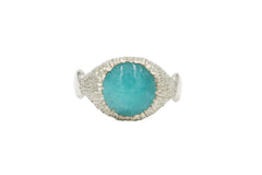 Serenity Ring with Amazonite