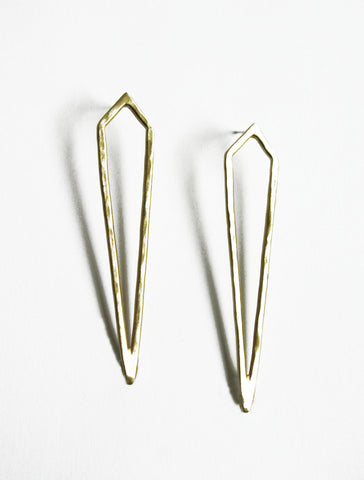 Sharp Front Earrings