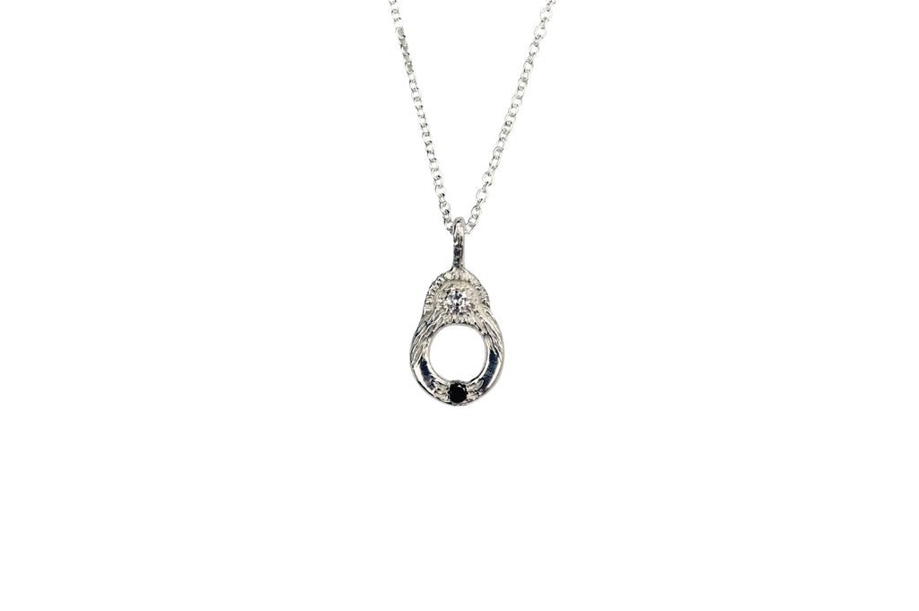 Light in the Dark Diamond Necklace