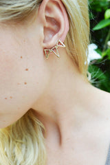 Gold Spike Ear Cuff
