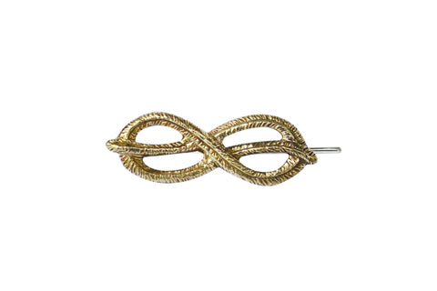 Single Palm Knot Ear Pin
