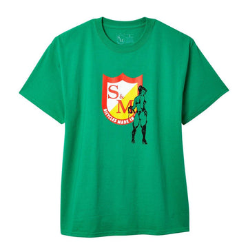 S&M Whip Girl shirt Green